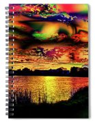 Alternative Cloud Design Spiral Notebook