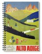 Alto Adige South Tyrol Spiral Notebook