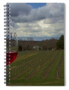 Alto Vineyards Spiral Notebook