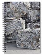 Aluminum Recycling Spiral Notebook