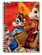 Alvin And The Chipmunks Chipwrecked Spiral Notebook