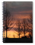 Always Darkest Before The Dawn Spiral Notebook