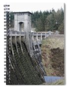 Alwen Reservoir Dam Spiral Notebook