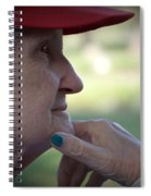 Alzheimer's The Aging Of A Lady Spiral Notebook