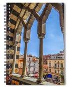 Amalfi Arches Spiral Notebook
