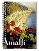 Amalfi Italy Spiral Notebook