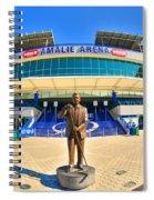 Amalie Arena Spiral Notebook