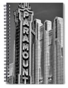 Amarillo Paramount Theatre - #1 Spiral Notebook