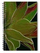 Amaryllis Art Spiral Notebook