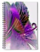 Amaryllis Butterfly II Spiral Notebook