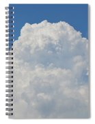 Amazing Cumulus Spiral Notebook