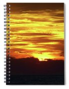 Amazing Fire In The Sky Spiral Notebook