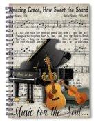 Amazing Grace-jp3513 Spiral Notebook