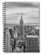 Amazing Manhattan Bw Spiral Notebook