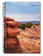 Amazing Rock Formations At Kodachrome Basin State Park, Usa. Spiral Notebook