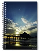 Amazing Sky Pier 60 Spiral Notebook