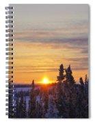 Amazing Winter Sunrise Spiral Notebook