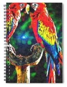 Amazon Parrotts Spiral Notebook