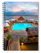 Amazon Swimming Pool Spiral Notebook