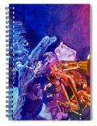 Ambassador Of Jazz - Louis Armstrong Spiral Notebook