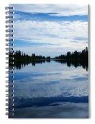 Amber Dusk Spiral Notebook