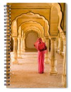 Amber Fort Temple Spiral Notebook