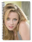 Amber Heard Spiral Notebook