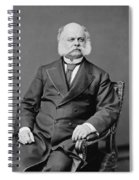 Ambrose Burnside And His Sideburns Spiral Notebook