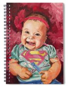 Amelia Spiral Notebook
