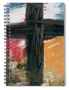 Amen Contemporary Cross- Art By Linda Woods Spiral Notebook