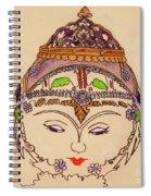 Amerat Goddess Of Flora Spiral Notebook