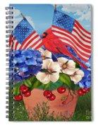 America The Beautiful-jp3210 Spiral Notebook