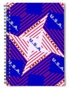 America-usa Spiral Notebook