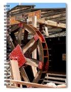 America Water Wheel Spiral Notebook
