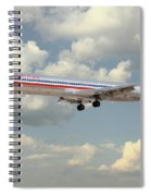 American Airlines Md-80 Spiral Notebook