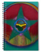 American Army Landscape Spiral Notebook