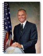 American Astonaut John Glenn Spiral Notebook