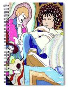 Jelly Roll Bob - Portraits Of Dylan Spiral Notebook