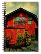 American Barn Spiral Notebook
