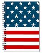 American Beach Towel Spiral Notebook