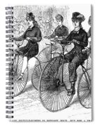 American Bicyclists, 1879 Spiral Notebook