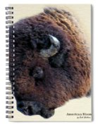 American Bison Spiral Notebook