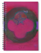 American Cats And Poppies Spiral Notebook