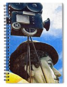 American Cinema Spiral Notebook