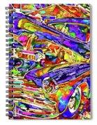 American Classic Car 4 Spiral Notebook