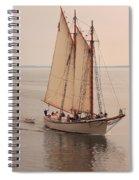 American Eagle Sail Spiral Notebook