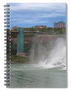American Falls And Rainbow Bridge Spiral Notebook