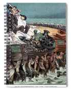 American Financiers, 1883 Spiral Notebook