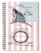American Firefighter's Helmet Spiral Notebook