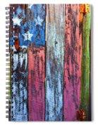 American Flag Gate Spiral Notebook